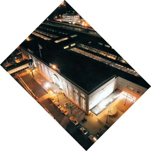 [Nwk Penn Station at nite, rotated to more normal view]