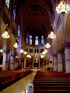 [Nave, altar, Nwk cathedral]