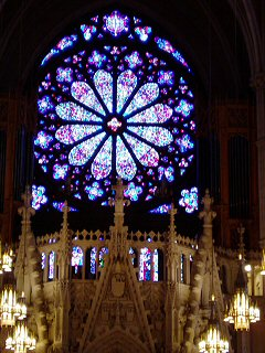 [South rose window, Nwk cathedral]
