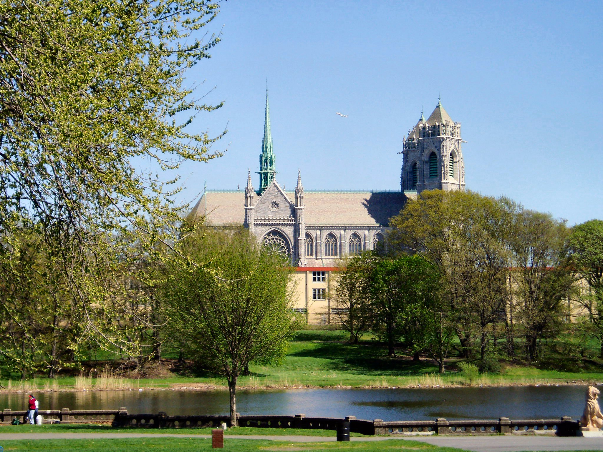 [Cathedral Basilica from Branch Brook Park]